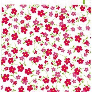 50 flower designer 6x9 poly mailers